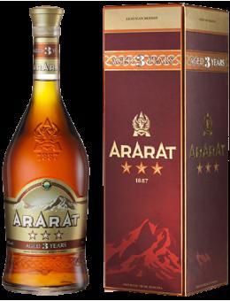 Ararat 3 Star 0,5 L 40 % GB...